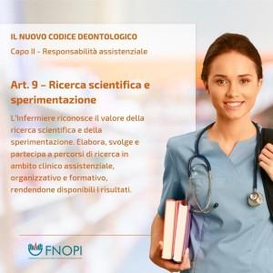 """Articolo 9 """"Ricerca e Sperimentazione"""""""