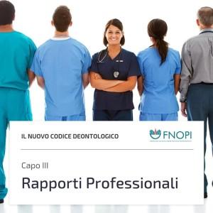 """Capo 3 """"Rapporti Professionali"""""""
