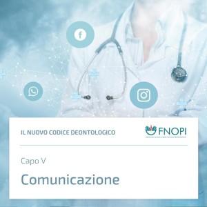 """Capo V """"Comunicazione"""""""